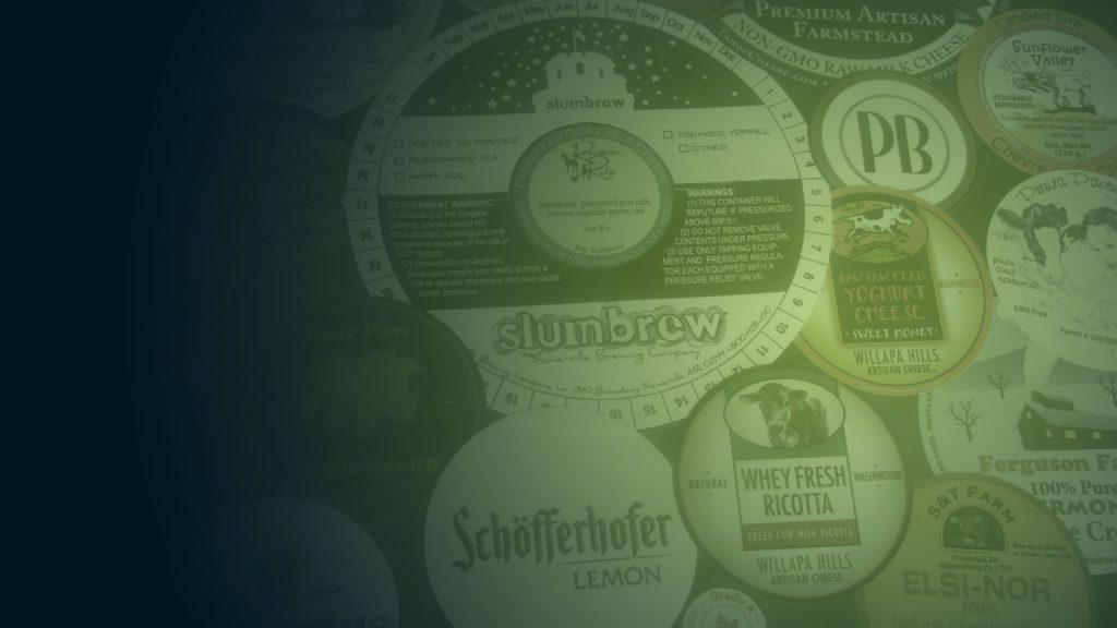 FREE Sample Pack • Round Circle Labels